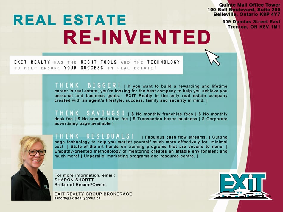 Exit Realty Group - Belleville, Trenton and Area Real Estate